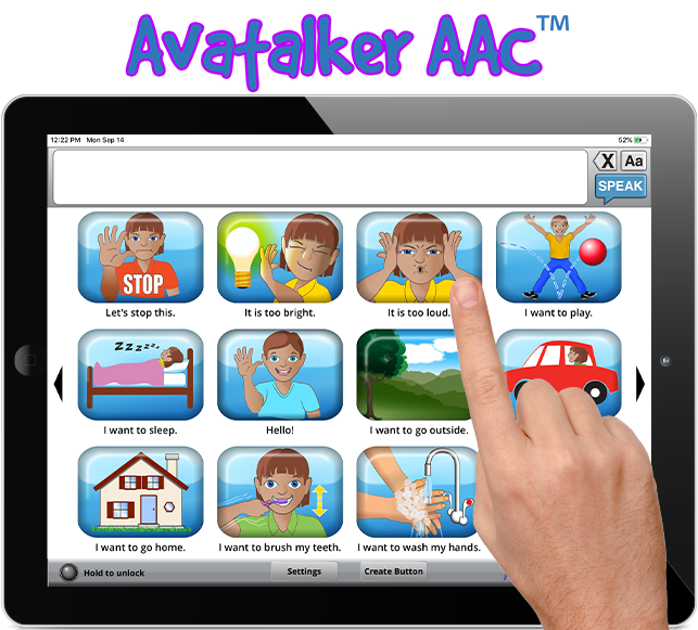 Avatalker AAC iOS App Solves Everyday Communication Challenges