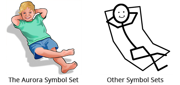 relax symbol set